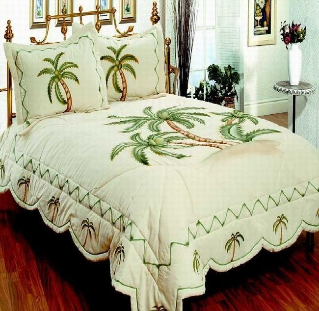 Best Palm Themed Bedding Beautiful Tropical Palm Tree Bedding With Pictures