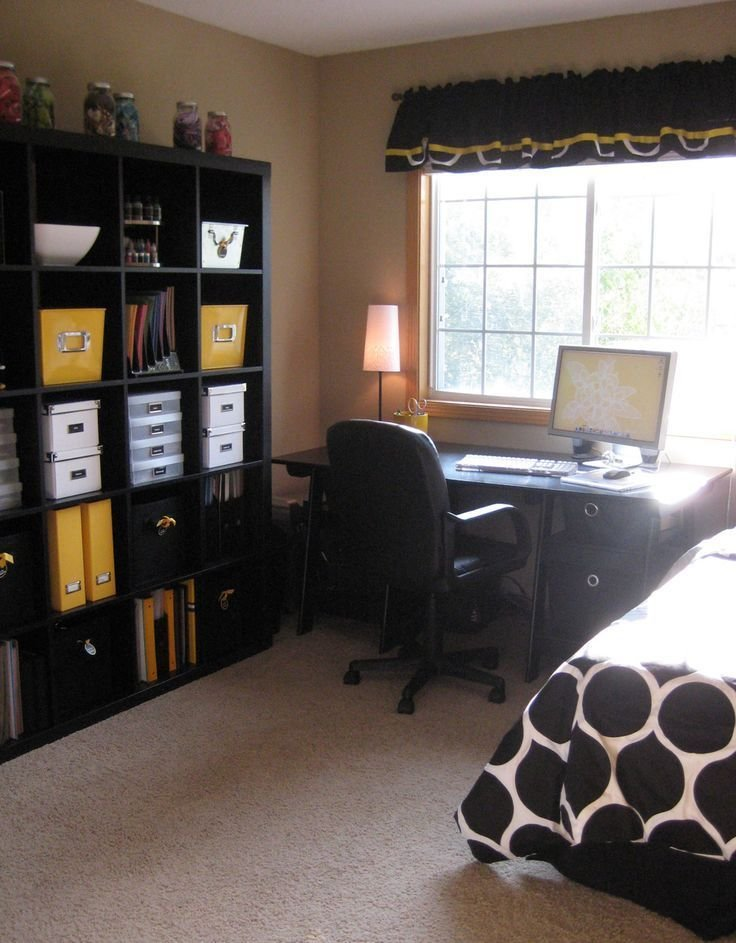 Best 25 Bedroom Office Combo Ideas On Pinterest Grey Bedrooms Bedroom Themes And Bedroom With Pictures
