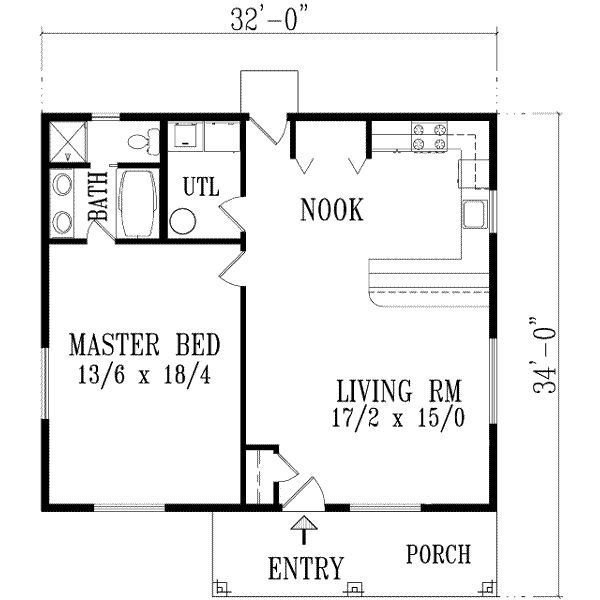 Best Exceptional One Bedroom Home Plans 10 1 Bedroom House With Pictures