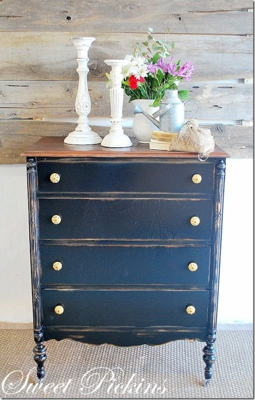 Best 17 Best Navy Blue Painted Dresser Images On Pinterest Navy Blue Dresser Painted Dressers And With Pictures