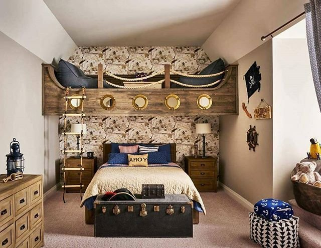 Best 25 Pirate Themed Bedrooms Ideas On Pinterest Pirate Bedroom Travel Bedroom And Kids With Pictures