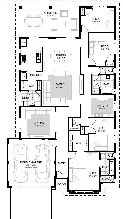 Best 25 4 Bedroom House Plans Ideas On Pinterest House Plans Country House Plans And House With Pictures