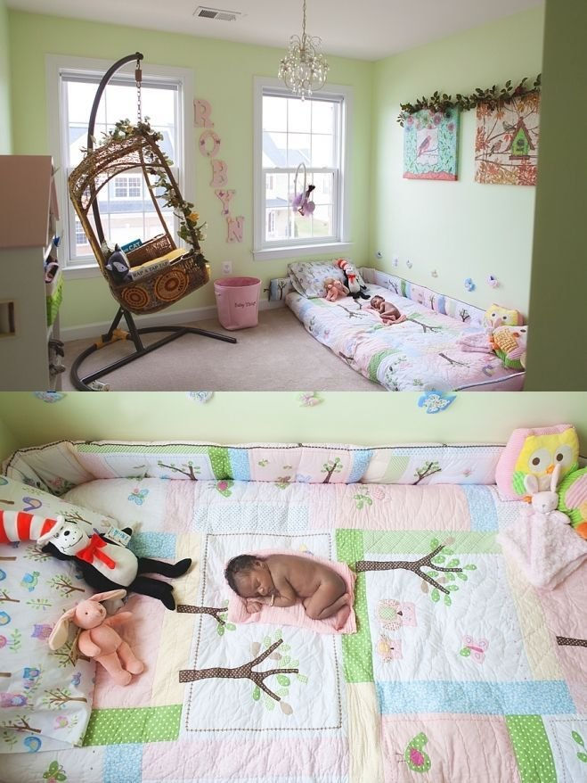 Best New Born Photo Session Down In Baby S Montessori Inspired With Pictures