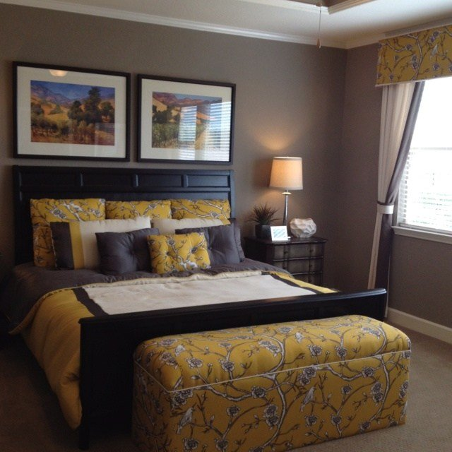 Best 12 Best Bedroom Ideas Yellow Black Images On Pinterest With Pictures