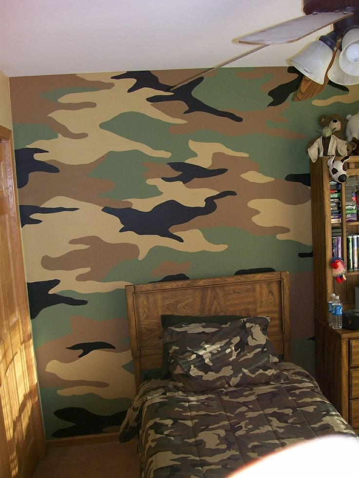 Best Camouflage Wall Mural Decorative Painting By Karl With Pictures