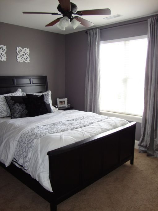 Best Gray Purple Guest Room Purple Grey Guest Bedroom With Pictures