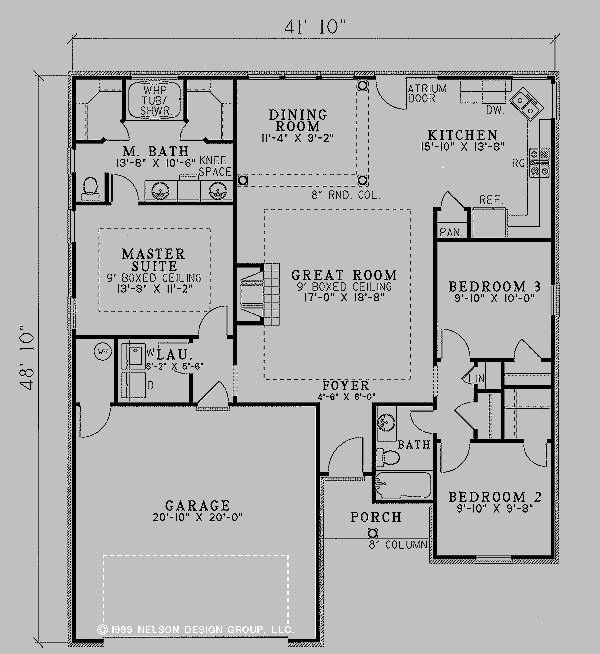 Best Main Level Nice Closets House Plans Hus House With Pictures