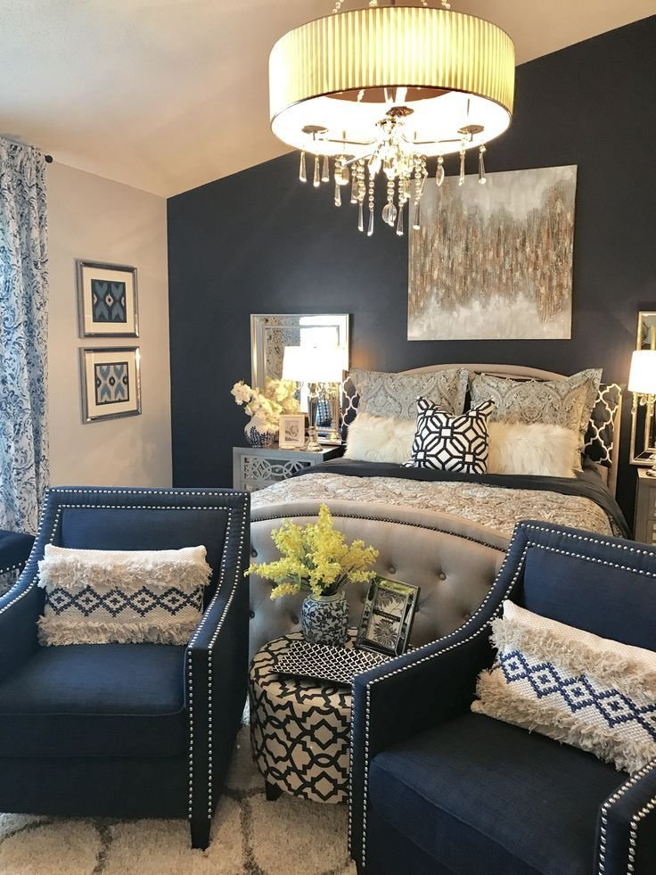 Best 25 Navy Master Bedroom Ideas On Pinterest Navy With Pictures