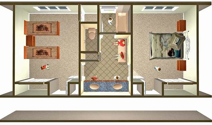 Best Design A Jack And Jill Bathroom Floor Plans Jack Jill With Pictures