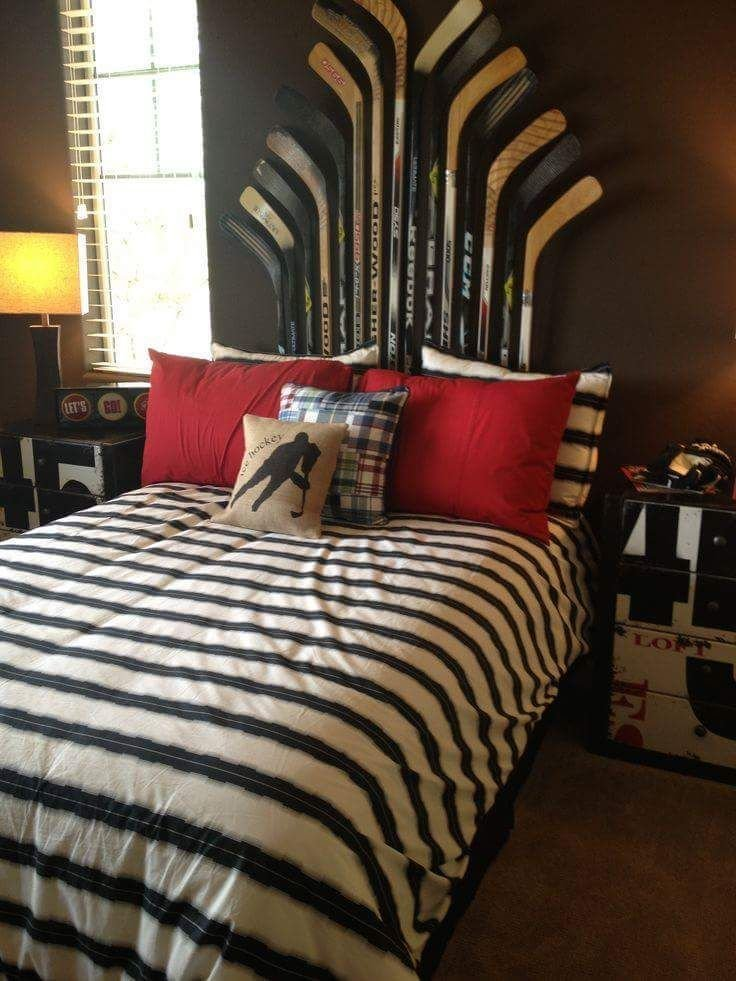 Best 25 Hockey Theme Bedrooms Ideas On Pinterest Boys With Pictures