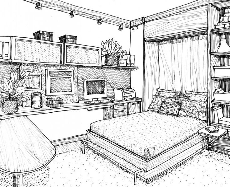Best Bedroom Drawing Ideas Simple Design 1 On Living Room With Pictures
