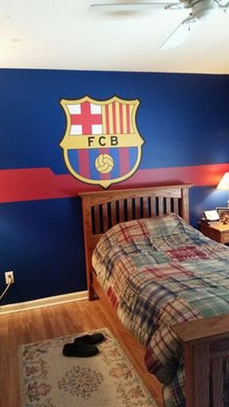 Best 25 Soccer Themed Bedrooms Ideas On Pinterest With Pictures