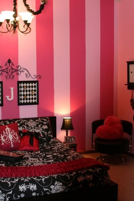Best 25 Pink Striped Walls Ideas On Pinterest Purple With Pictures