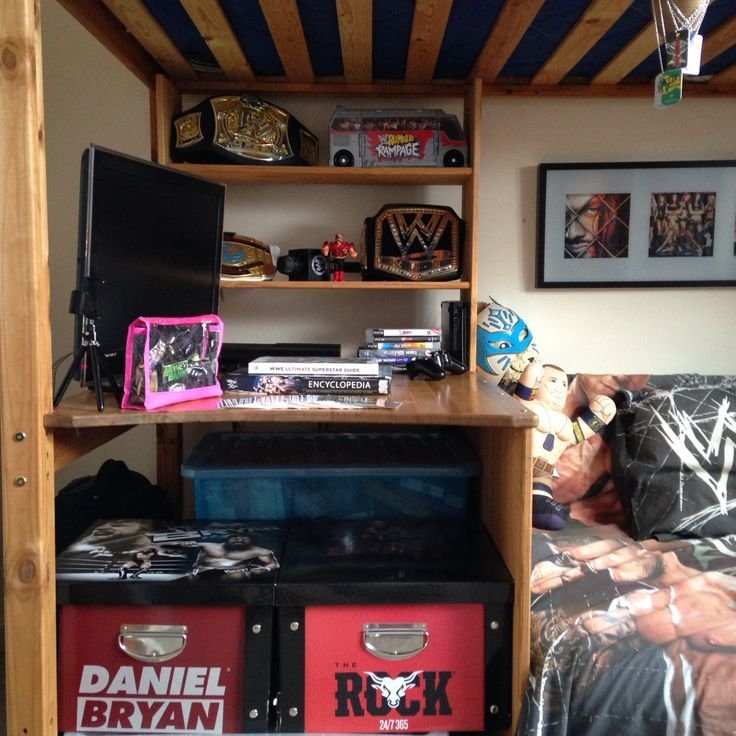 Best 25 Wwe Bedroom Ideas On Pinterest Wrestling Ring With Pictures