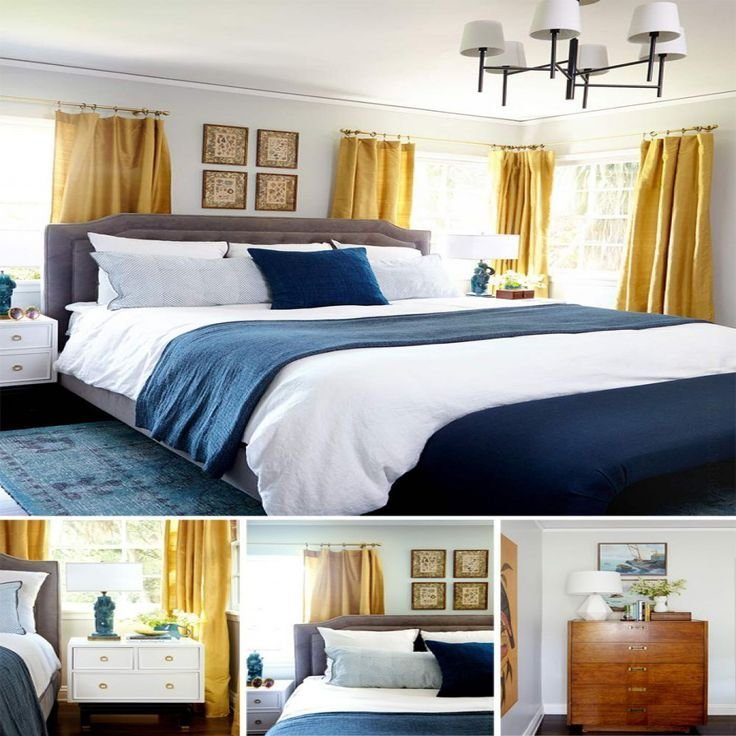 Best 25 Navy Yellow Bedrooms Ideas On Pinterest Blue With Pictures