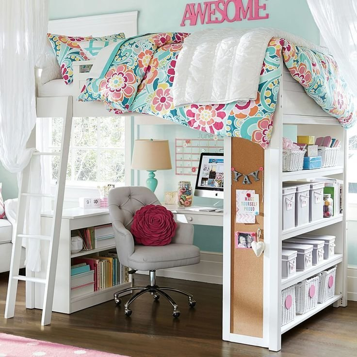 Best 25 Girl Loft Beds Ideas On Pinterest Loft Bed With Pictures