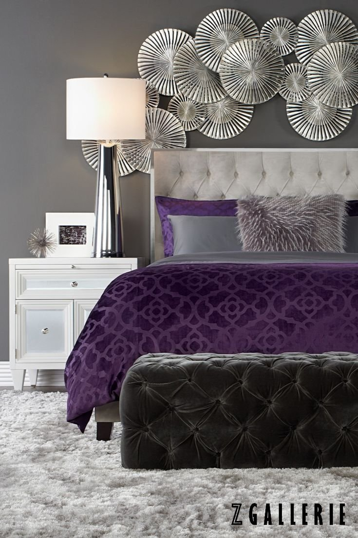Best 25 Purple Bedspread Ideas On Pinterest Purple Grey With Pictures