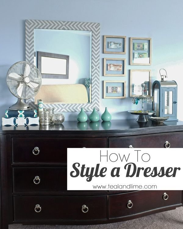 Best How To Style A Dresser For The Home Low Dresser Home With Pictures
