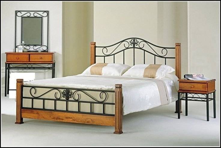 Best 25 Iron Headboard Ideas On Pinterest Farmhouse Bedrooms Simple Bedroom Small And Spare With Pictures