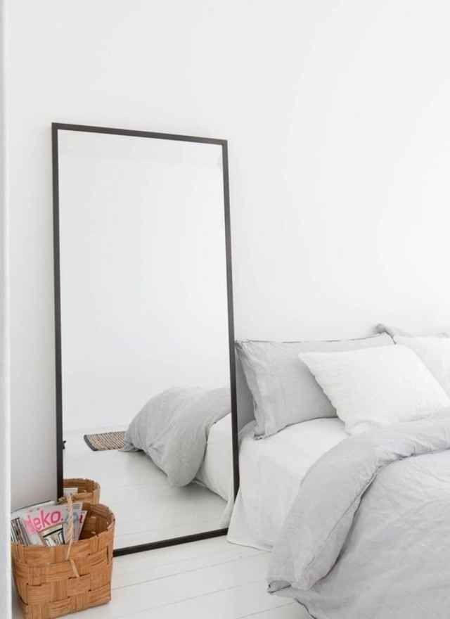 Best 20 Large Floor Mirrors Ideas On Pinterest Floor Mirrors White Bedroom And Silver Framed With Pictures