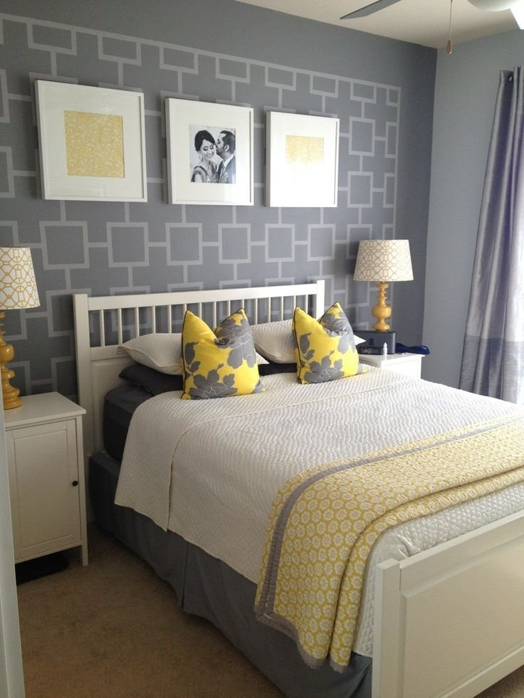 Best Gray And Yellow Bedroom Ideas Another Shot Of Grey And Yellow Bedroom Yellow Gray Bedroom With Pictures