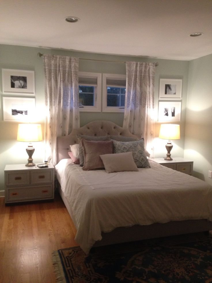Best 25 Curtains Behind Bed Ideas On Pinterest Window With Pictures