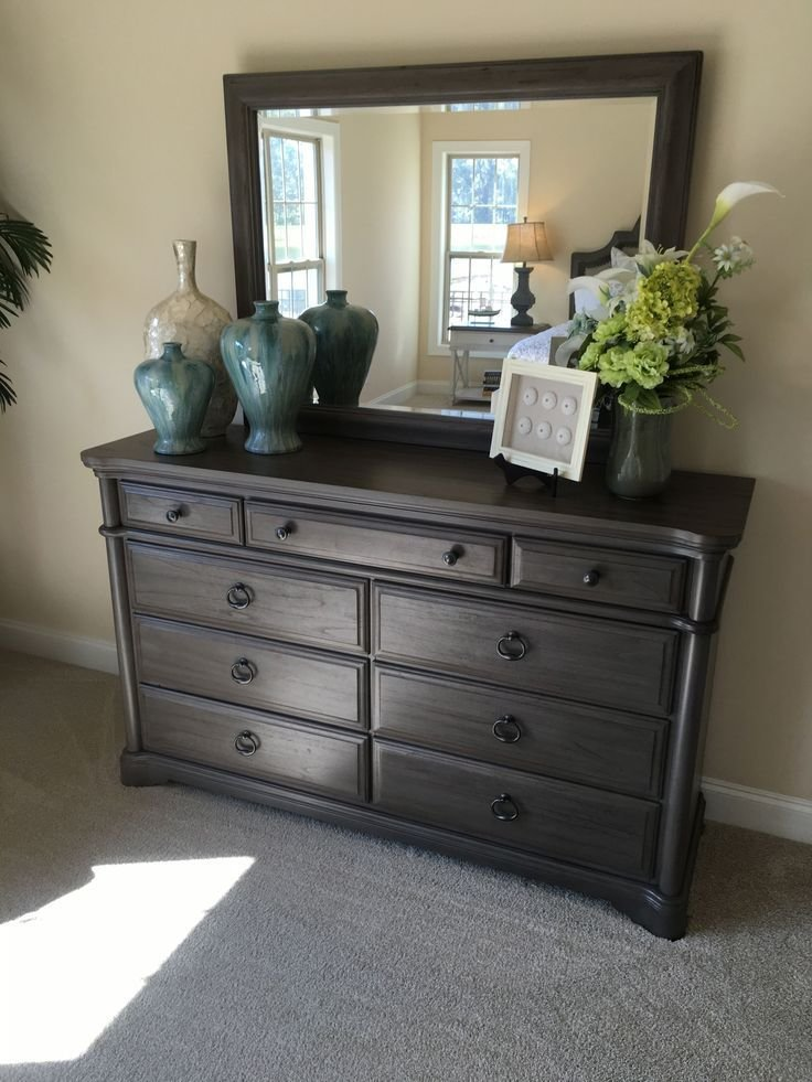 Best How To Stage A Bedroom Dresser With Vases Urns Frames And Flowers Furniture Bedroom Decor With Pictures