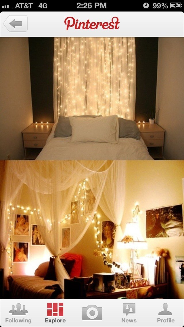 Best 25 Icicle Lights Bedroom Ideas On Pinterest White With Pictures