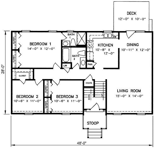 Best 1970S Split Level House Plans Split Level House Plan With Pictures
