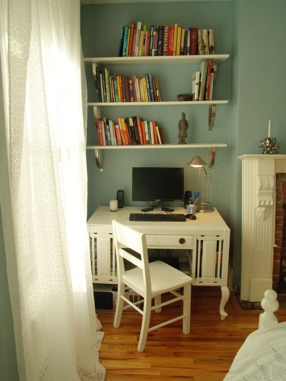 Best 25 Shelves Above Desk Ideas On Pinterest With Pictures