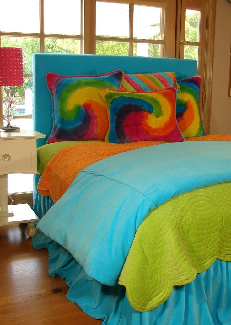 Best T**N Bedding In Bright Colors And Tie Dye T**N Bedroom With Pictures