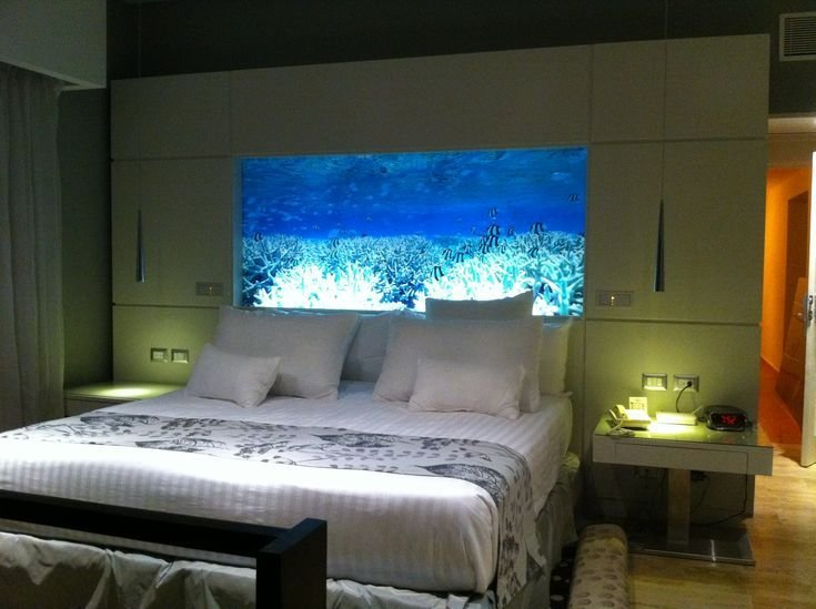 Best 9 Best Fish Tank Headboard Images On Pinterest Aquariums With Pictures