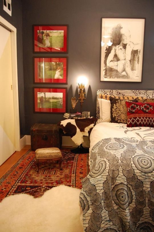 Best 61 Best Brown And Red Bedroom Images On Pinterest Master With Pictures