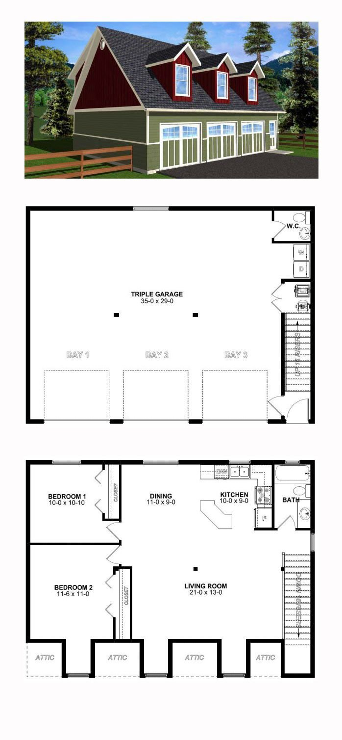 Best 25 Garage Apartment Plans Ideas On Pinterest With Pictures