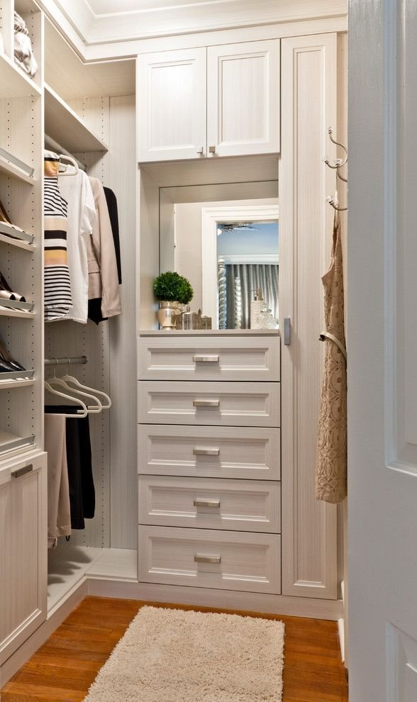 Best Small Walk In Closet Design Closet Transitional With With Pictures