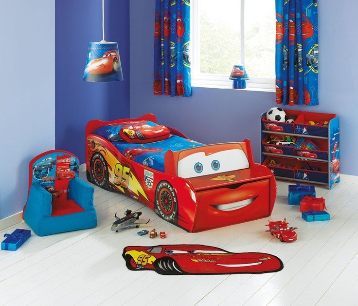 Best This Lightning Mcqueen Bed From Argos With Front Seat And With Pictures