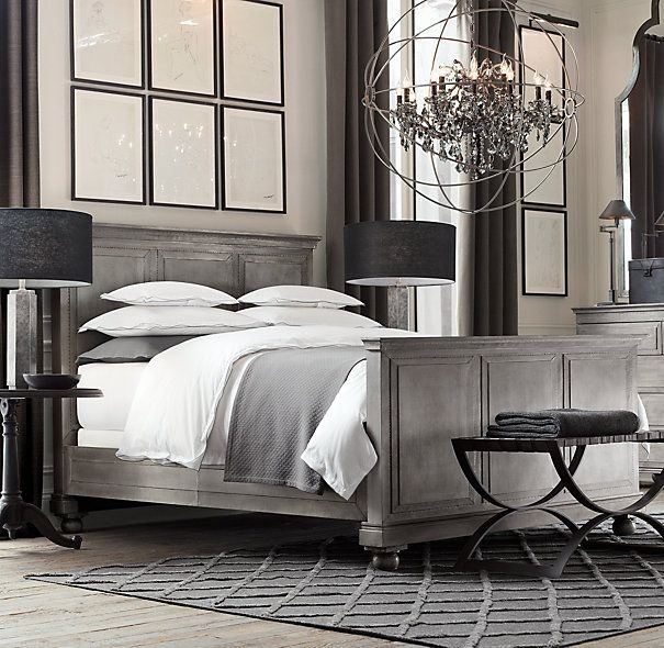 Best Annecy Metal Wrapped Bed With Footboard Designing Our With Pictures