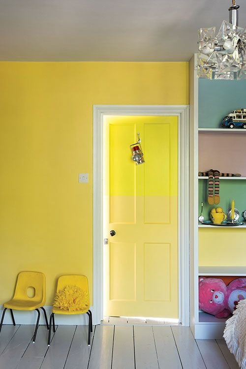 Best Children S Room Bright Colour Wall Paint Wall Colour With Pictures