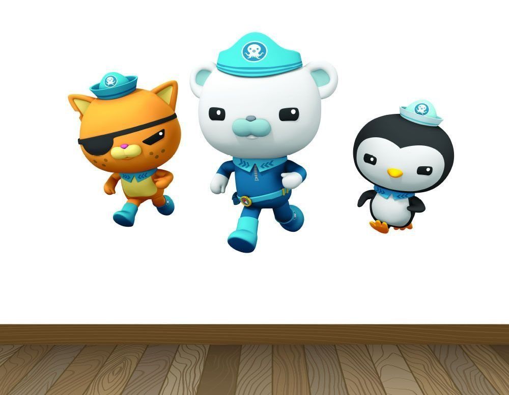 Best Large Octonauts Wall Stickers Girls Boys Kids Bedroom With Pictures
