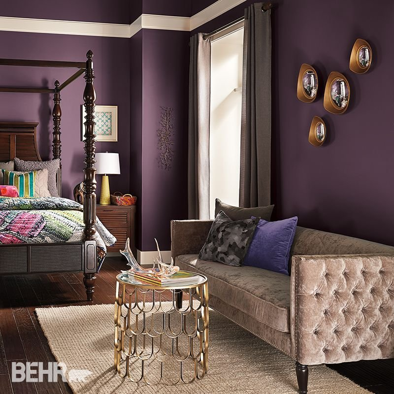 Best Deep Dreams Dark Colors Will Transform A Bedroom Into A With Pictures