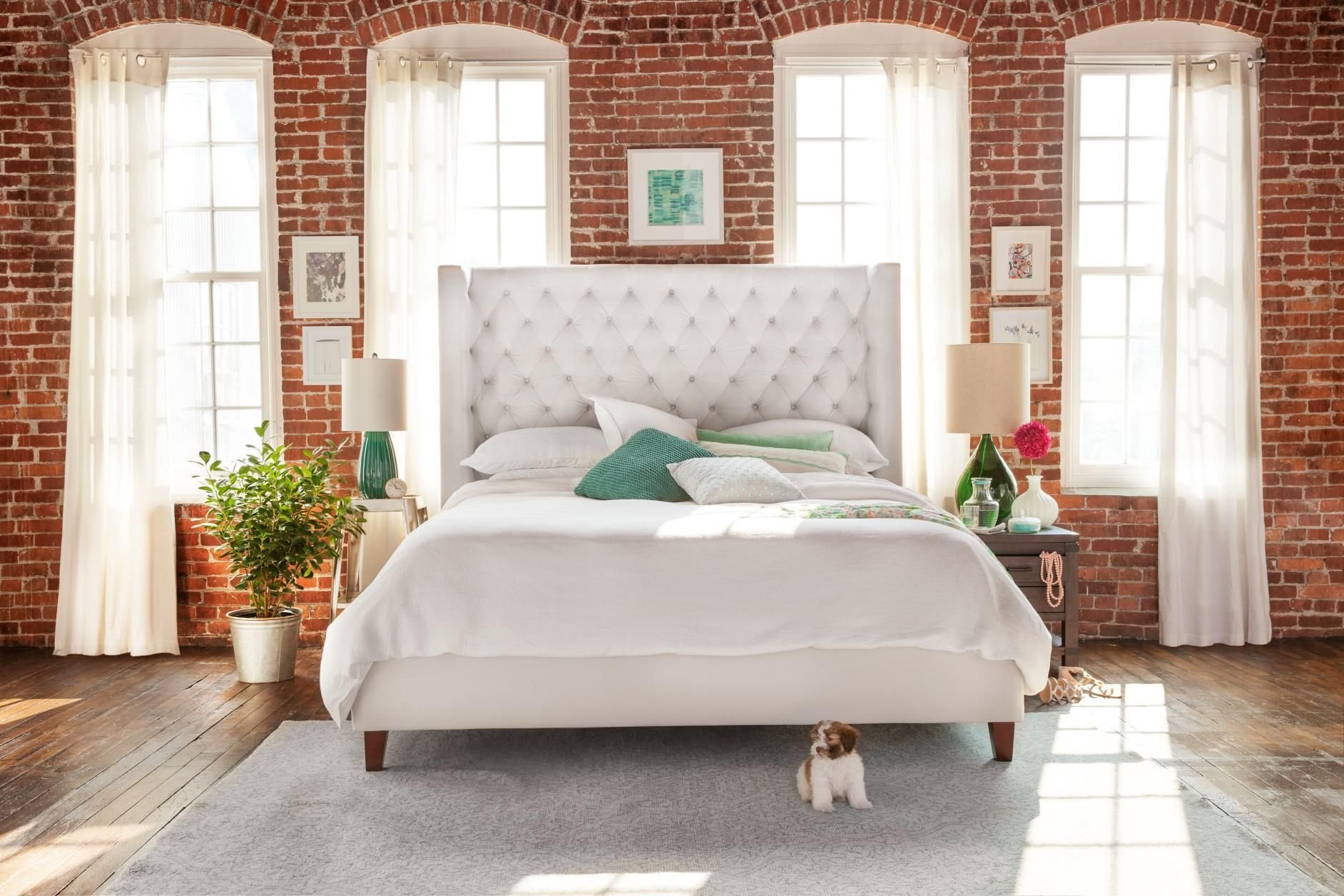 Best Mandarin Upholstered Bed French Inspired Upholstered Beds Home Decor Value City Furniture With Pictures