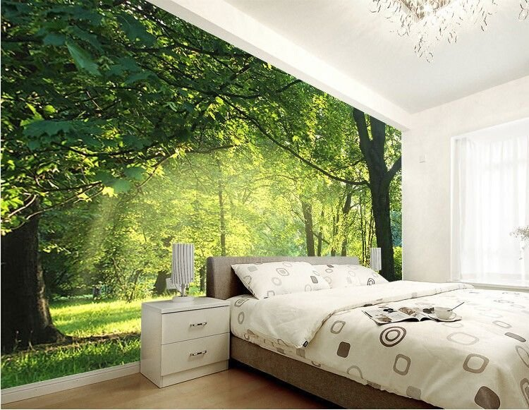 Best Custom 3D Wallpaper Idyllic Natural Scenery And Flowers With Pictures