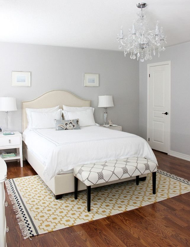 Best A Light Gray Shade Will Give Your Bedroom A Romantic Classic Feel That's Enhanced With A Touch With Pictures