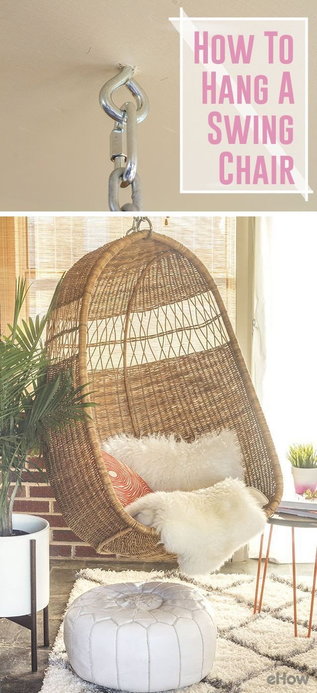 Best How To Hang A Swing Chair From A Ceiling Joist Diy With Pictures