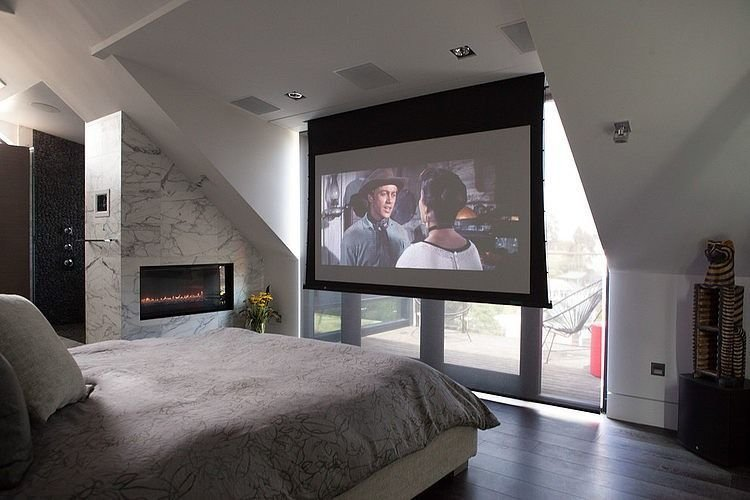 Best We Nearly Had A Projector Screen In Place Of Tv At Our With Pictures