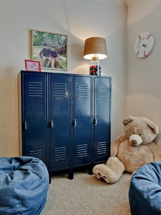 Best Love These Blue Lockers So Great For Organizing A Kids With Pictures