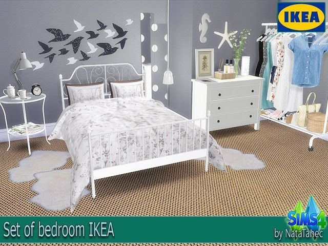 Best Sims 4 Cc S The Best Set Of Bedroom Ikea By Natatanec With Pictures