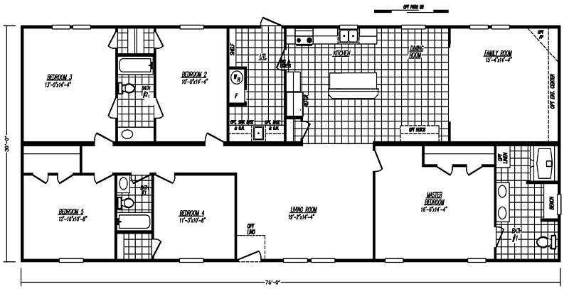Best 30 By 76 Doublewide 5 Bed 3 Bath 2 280 Sqft Austin By With Pictures