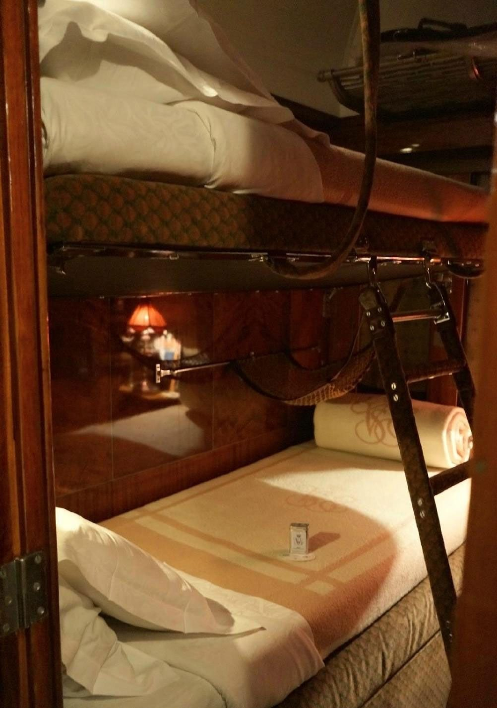 Best Orient Express Cabin Transformed By Cabin Steward Into A With Pictures