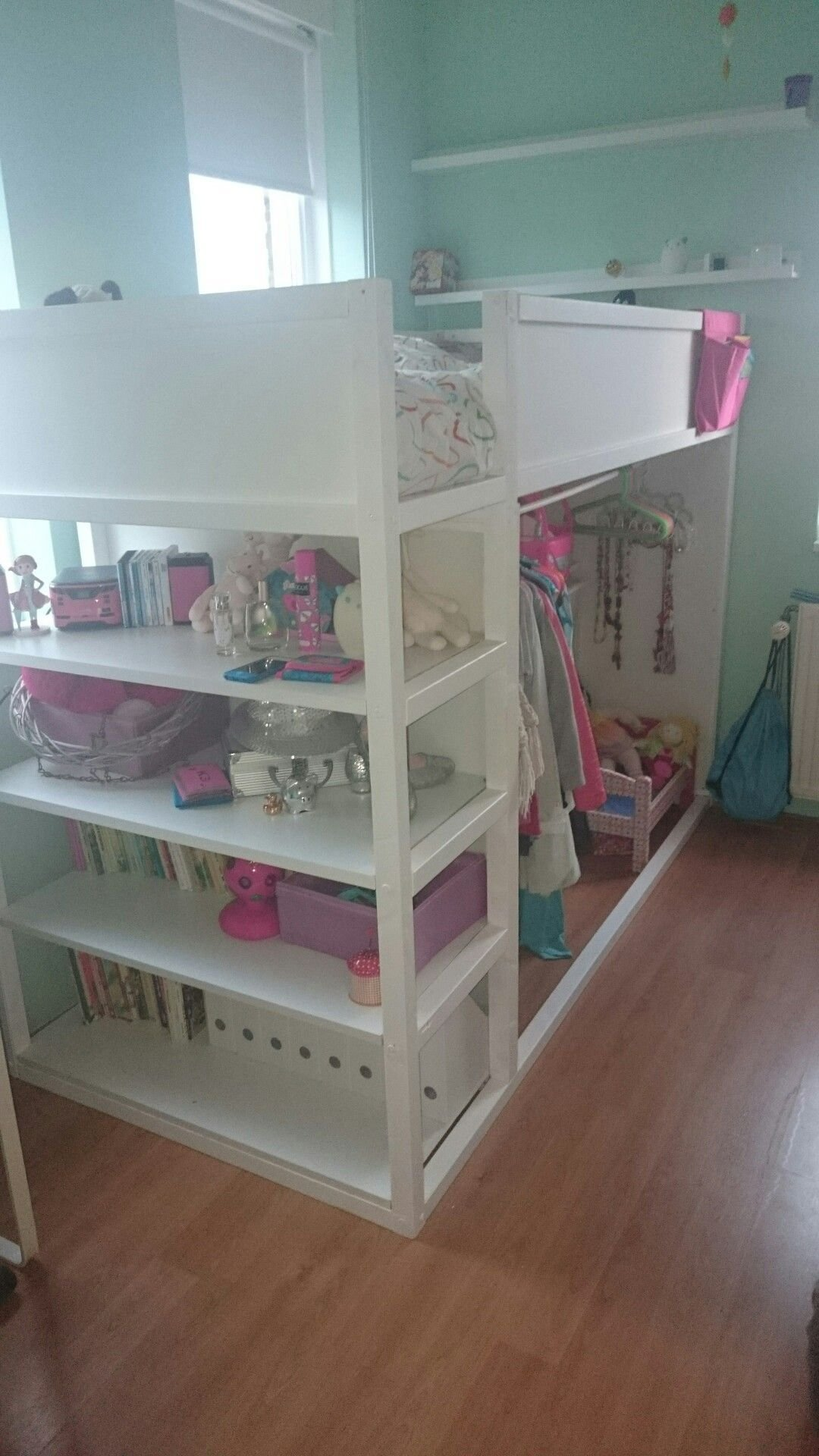 Best Kura Reversible Bed From Ikea With Shelving Kids Book With Pictures